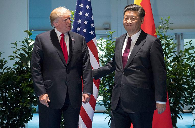 Встреча Дональда Трампа и Си Цзиньпина на полях саммита G20