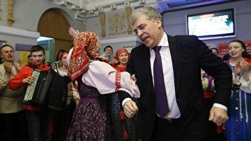 Кандидат в президенты РФ Павел Грудинин