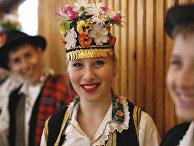 Боснийка в традиционных одеждах