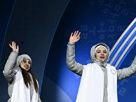 Олимпиада 2018. Церемония награждения. Второй день