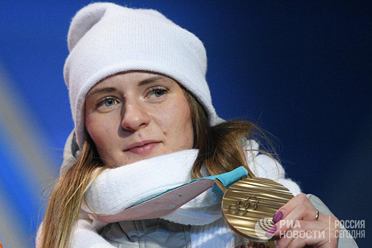 Российская спортсменка Наталья Воронина