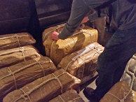 Кокаин, который был найден в посольстве России в Буэнос-Айресе, Аргентина