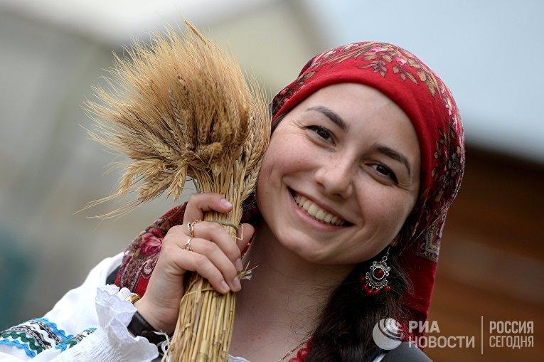 """Русский народный праздник """"Каравон"""" в Татарстане"""