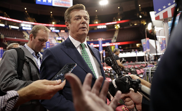 Глава избирательного штаба кандидата в президенты США от Республиканской партии Дональда Трампа Пол Манафорт