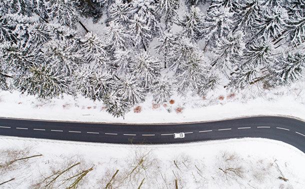 Зима в Нижней Саксонии, Германия