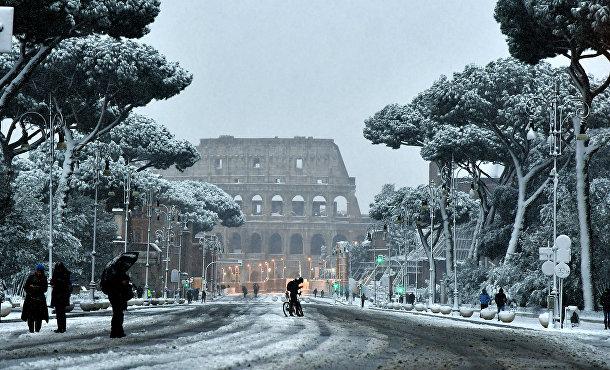 «Чудовище с Востока» (Beast from the East), арктический шквал, установил рекорды низких температур во многих частях Европы, а Рим увидел свой первый за многие годы снегопад.