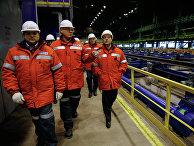 Рабочая поездка Д.Медведева в Новокузнецк