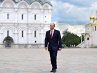 Торжественный прием в Кремле в честь Дня России