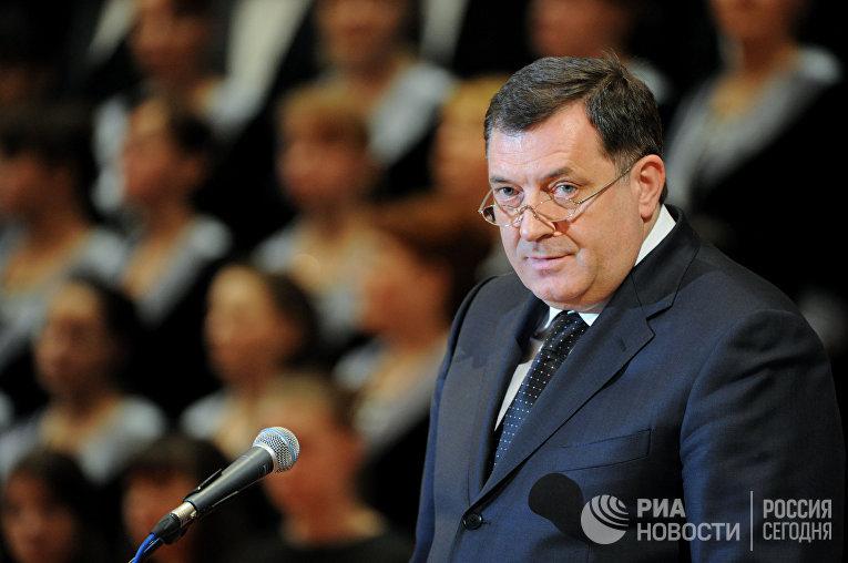 Президент Республики Сербской Боснии и Герцеговины Милорад Додик