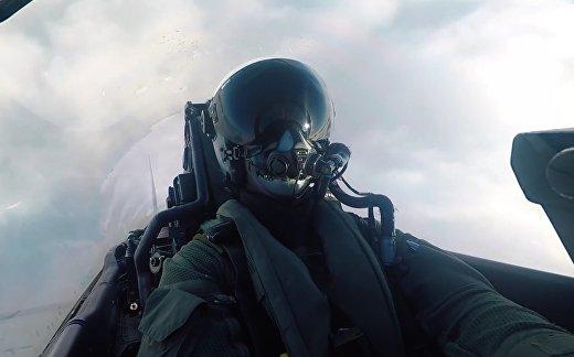 «Тайфун» и  Су-30. Маневры на Балтикой