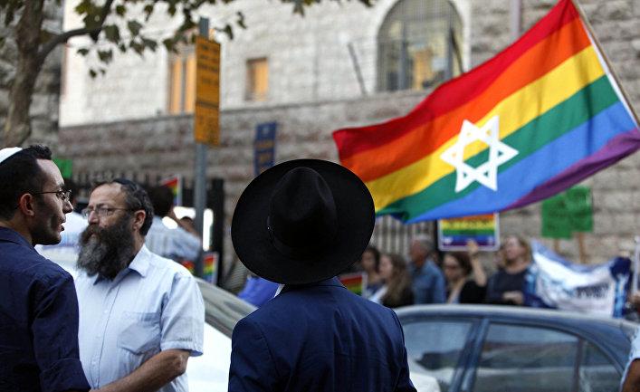 Акция протеста в Иерусалиме, Израиль