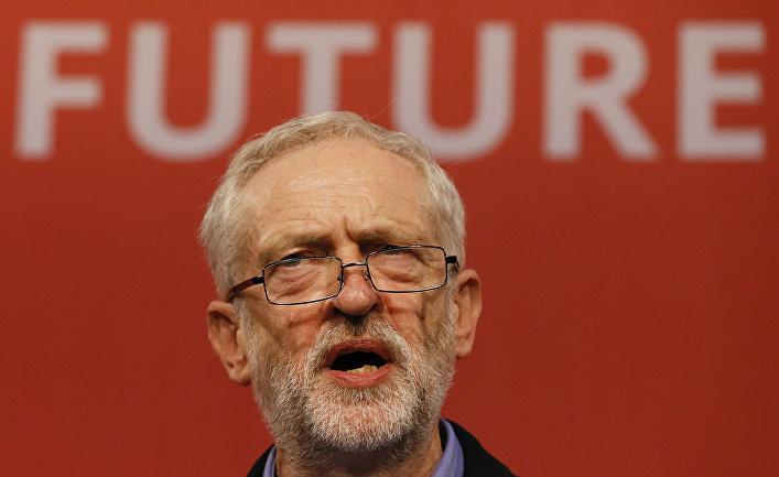 Джереми Корбин, победивший на выборах главы Лейбористской партии Великобритании