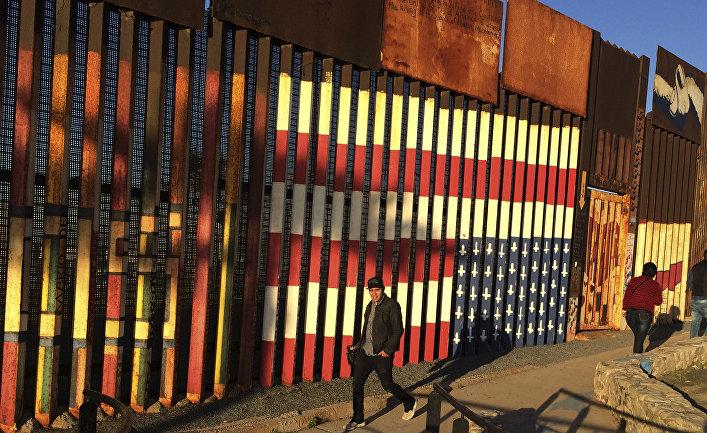 Пограничное ограждение Мексика-США