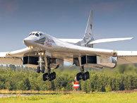 Российский бомбардировщик Ту-160