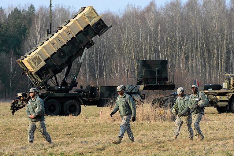 Cистемы противовоздушной и противоракетной обороны Patriot PAC-3 в Польше