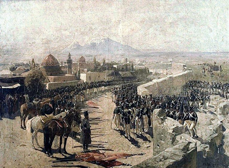 Захват Эриванской крепости Россией, 1827 год