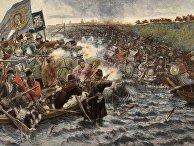 Картина Василия Сурикова «Покорение Сибири Ермаком», 1892 г.