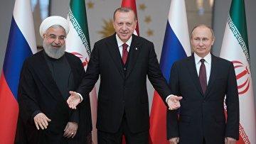 Визит президента РФ В. Путина в Турцию. День второй