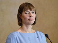 Президент Эстонской Республики Керсти Кальюлайд