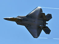 """Американский истребитель F-22 """"Раптор"""""""