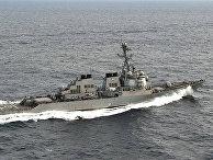 Ракетный эсминец ВМС США USS Porter