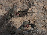 Американские солдаты на омано-американских учениях