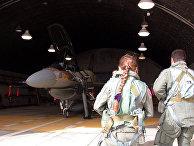 Израильский истребитель F-16I