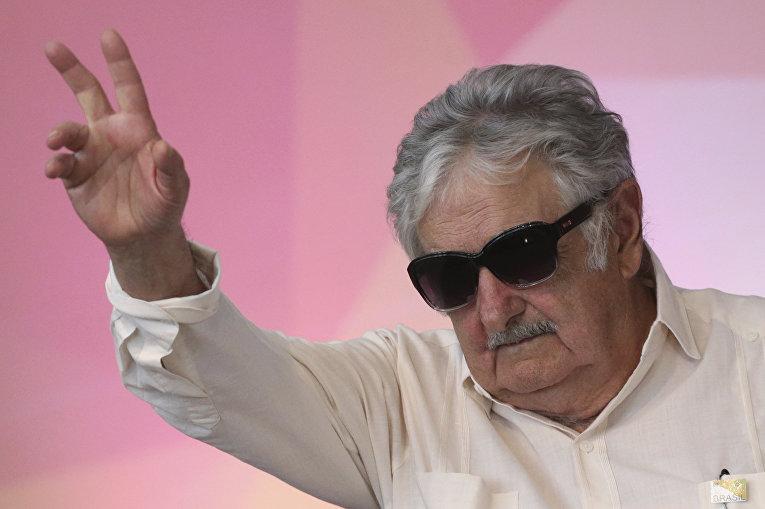 Бывший президент Уругвая Хосе Мухика