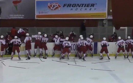 Россия vs Словакия: побоище на льду