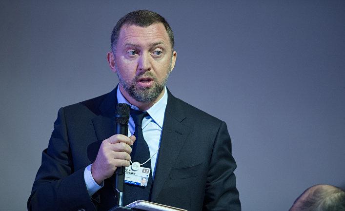Председатель наблюдательного совета компании «Базовый элемент» Олег Дерипаска
