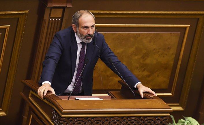 Внеочередное заседание по выборам нового премьера в парламенте Армении