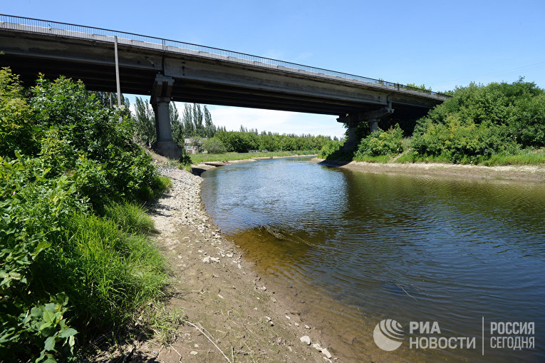 """Канал """"Северский Донец - Донбасс"""" в Донецкой области"""