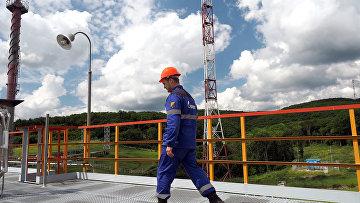 Комплекс подготовки и транспортировки газа Газпрома