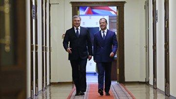 Кандидат на пост премьер-министра РФ Д. Медведев встретился с депутатами фракции «Единая Россия» в Госдуме РФ