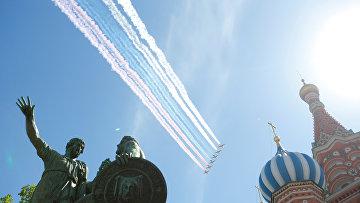 Самолеты Су-25 ВВС России
