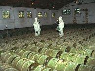Склад ядовитых веществ в городе Горный