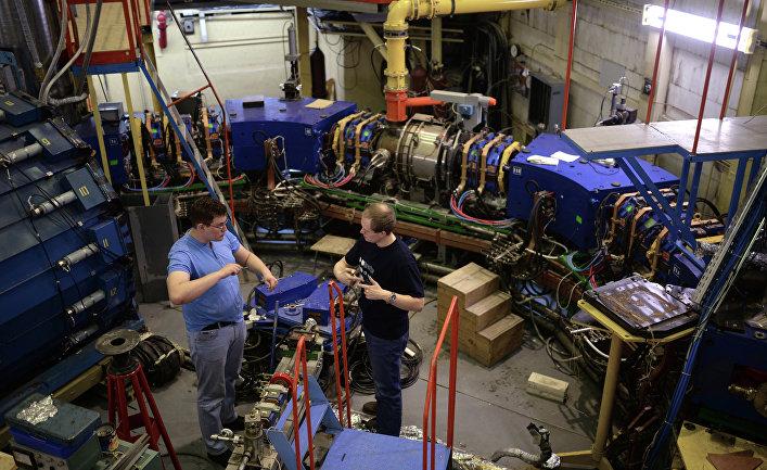 Во время технических работ на коллайдере ВЭПП-2000