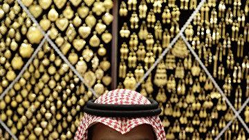 Магазин золотых изделий в священном городе Мекка, Саудовская Аравия