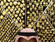Магазин золотых изделий в в священном городе Мекка, Саудовская Аравия