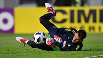 Футбол. Тренировка сборной Бразилии