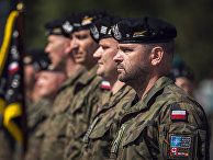 Польские солдаты
