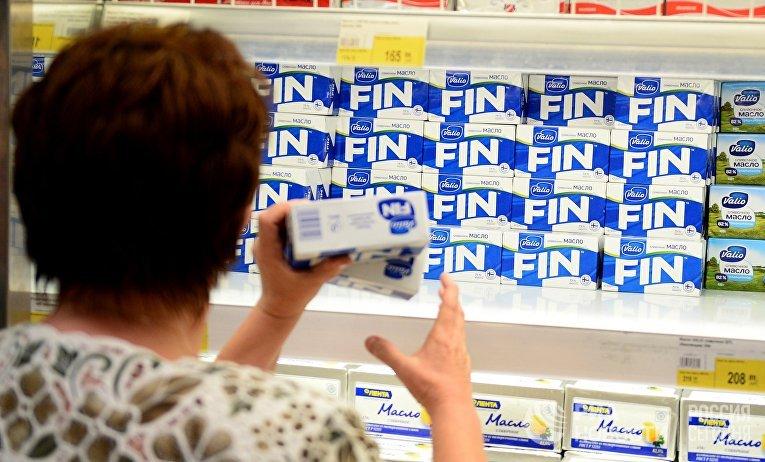 Продажа продуктов финского производителя молочных продуктов Valio
