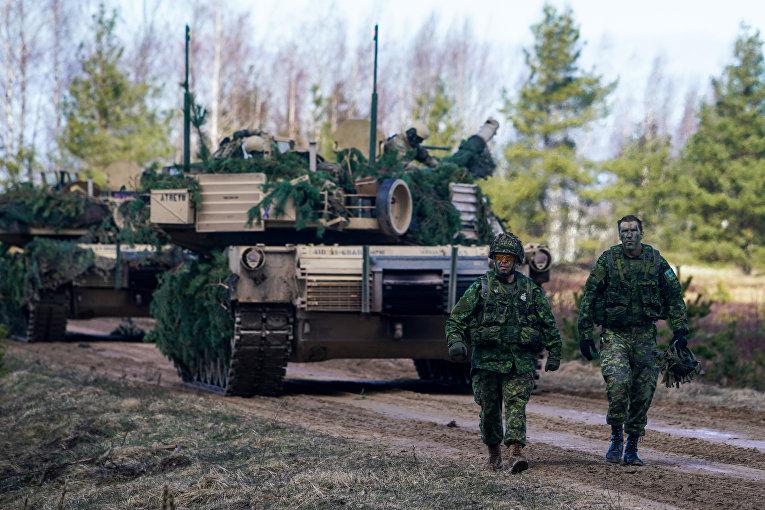 """Военнослужащие Канады на международных военных учениях """"Summer Shield XIV"""" в Латвии"""