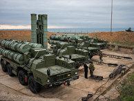 """Комплекс ПВО С-400 """"Триумф"""" заступил на охрану российских воздушных границ в Севастополе"""