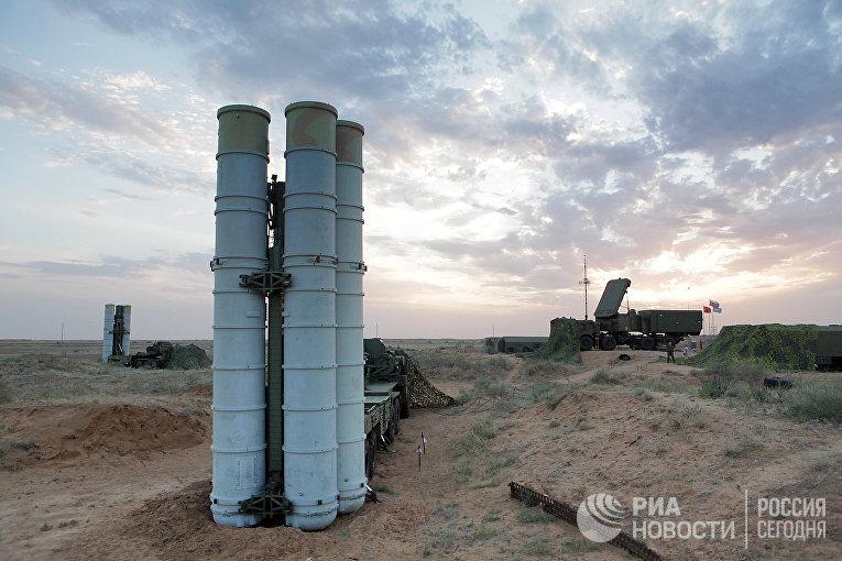 """Подготовка к стрельбам зенитных ракетных систем С-400 """"Триумф"""""""