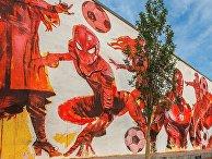 Граффити к ЧМ-2018 в Москве