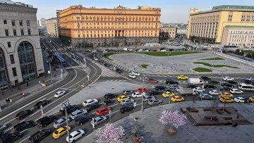 Лубянская площадь в Москве