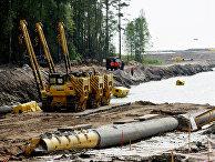 """Строительство трубопровода """"Северный поток-2"""""""
