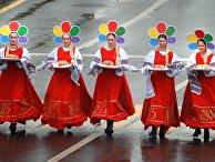 Карнавальное шествие в рамках XIX Всемирного фестиваля молодежи и студентов