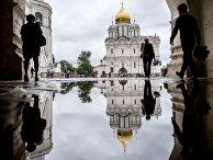 Архангельский собор на Соборной площади Московского Кремля